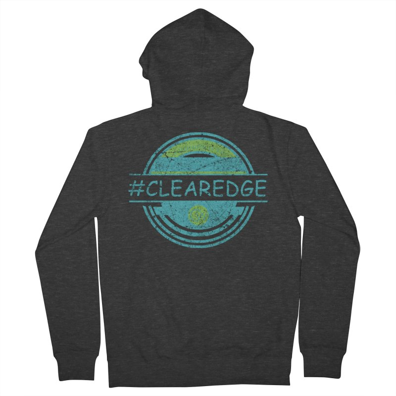 #CLEAREDGE Women's French Terry Zip-Up Hoody by Clearwater Chiropractic Gear
