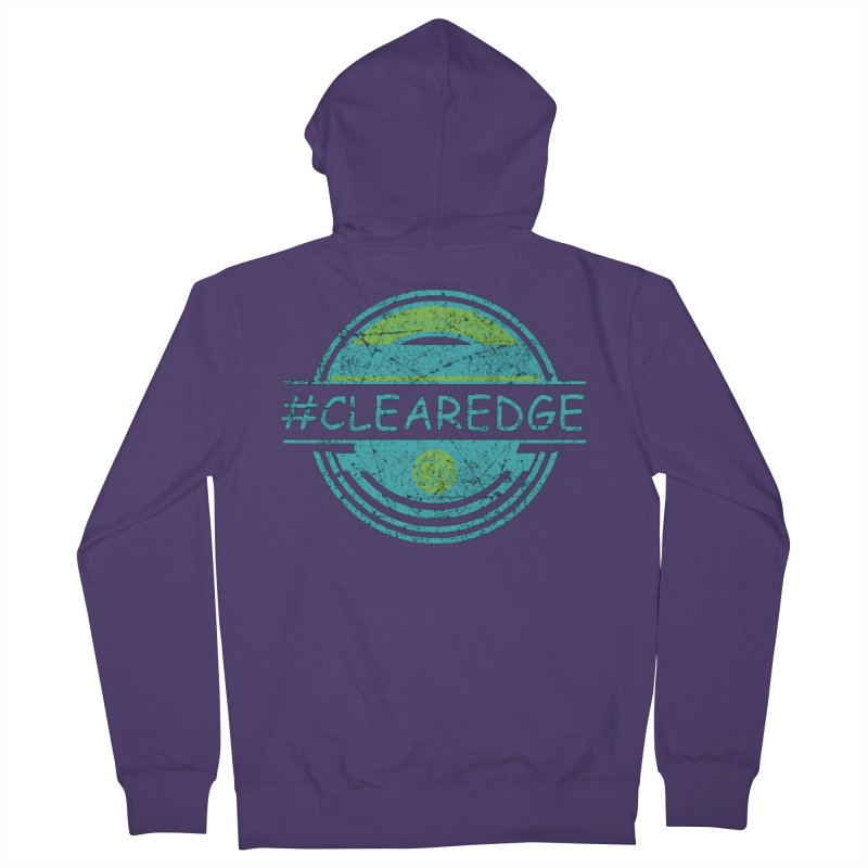 #CLEAREDGE Women's Zip-Up Hoody by Clearwater Chiropractic Gear