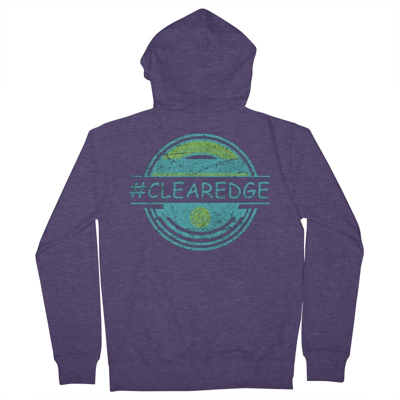 #CLEAREDGE Men's French Terry Zip-Up Hoody by Clearwater Chiropractic Gear