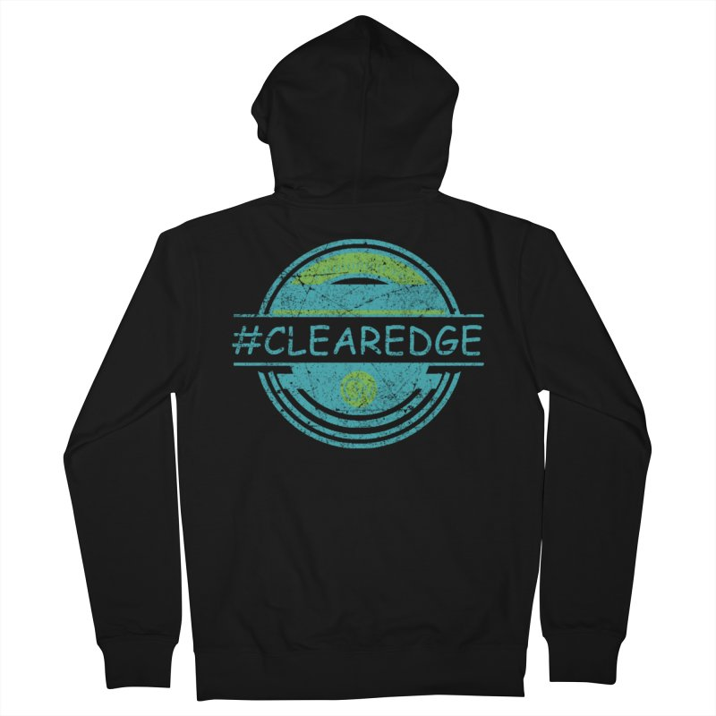 #CLEAREDGE Men's Zip-Up Hoody by Clearwater Chiropractic Gear