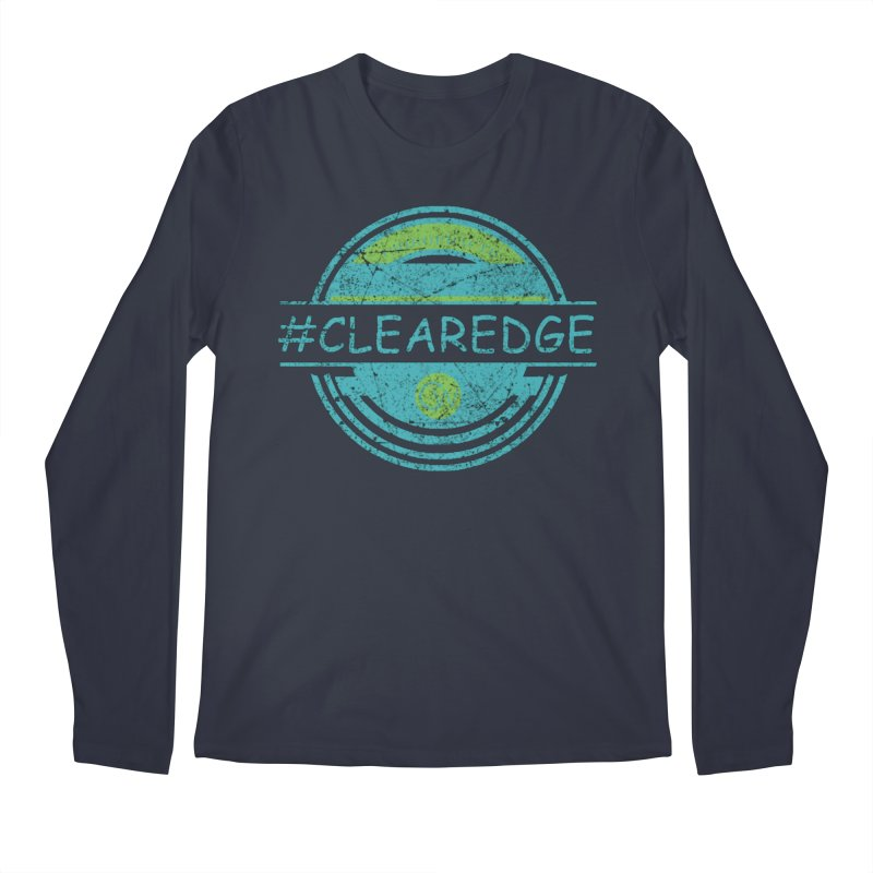 #CLEAREDGE Men's Regular Longsleeve T-Shirt by Clearwater Chiropractic Gear
