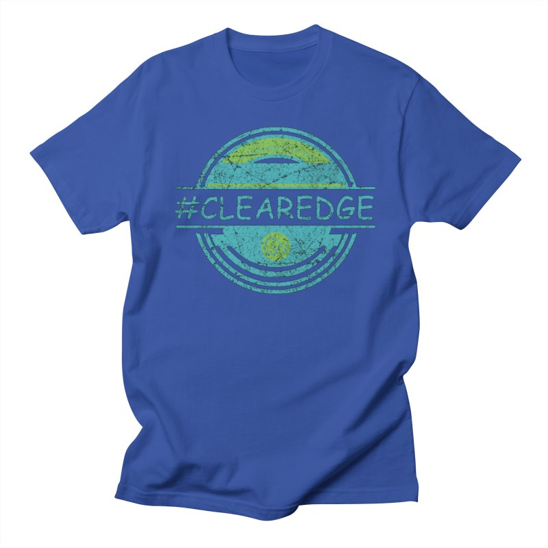 #CLEAREDGE Men's T-Shirt by Clearwater Chiropractic Gear
