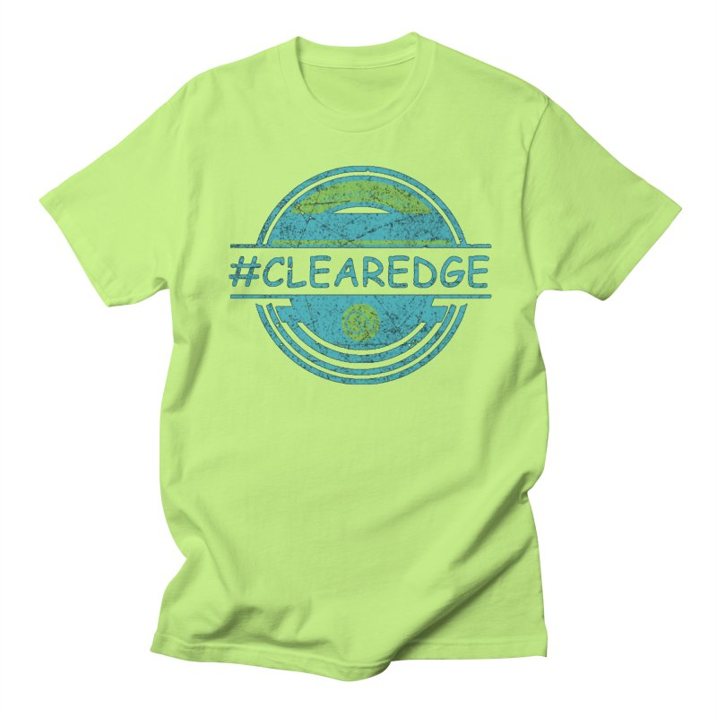 #CLEAREDGE Men's Regular T-Shirt by Clearwater Chiropractic Gear