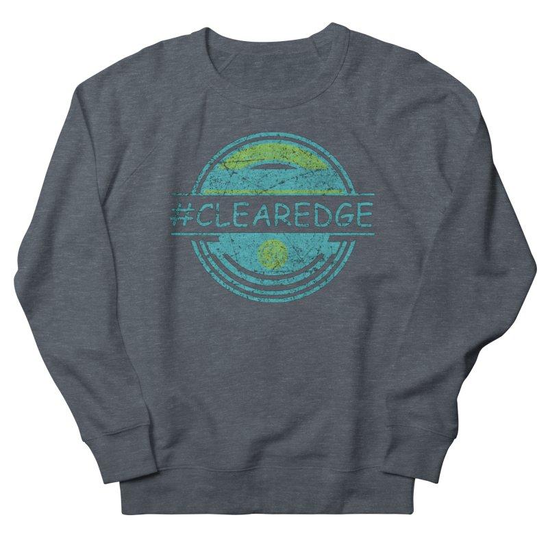 #CLEAREDGE Men's Sweatshirt by Clearwater Chiropractic Gear