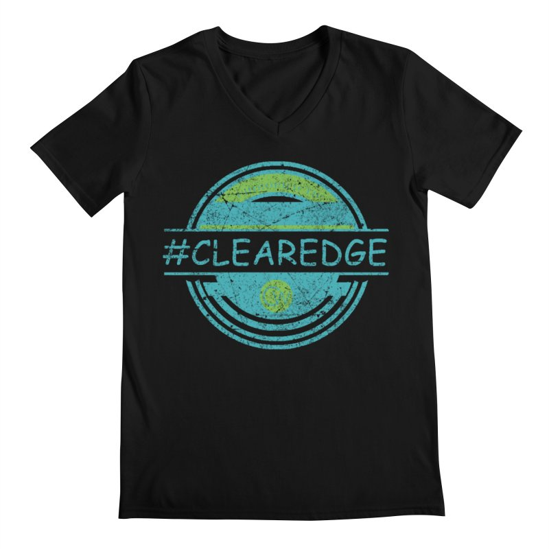 #CLEAREDGE Men's V-Neck by Clearwater Chiropractic Gear