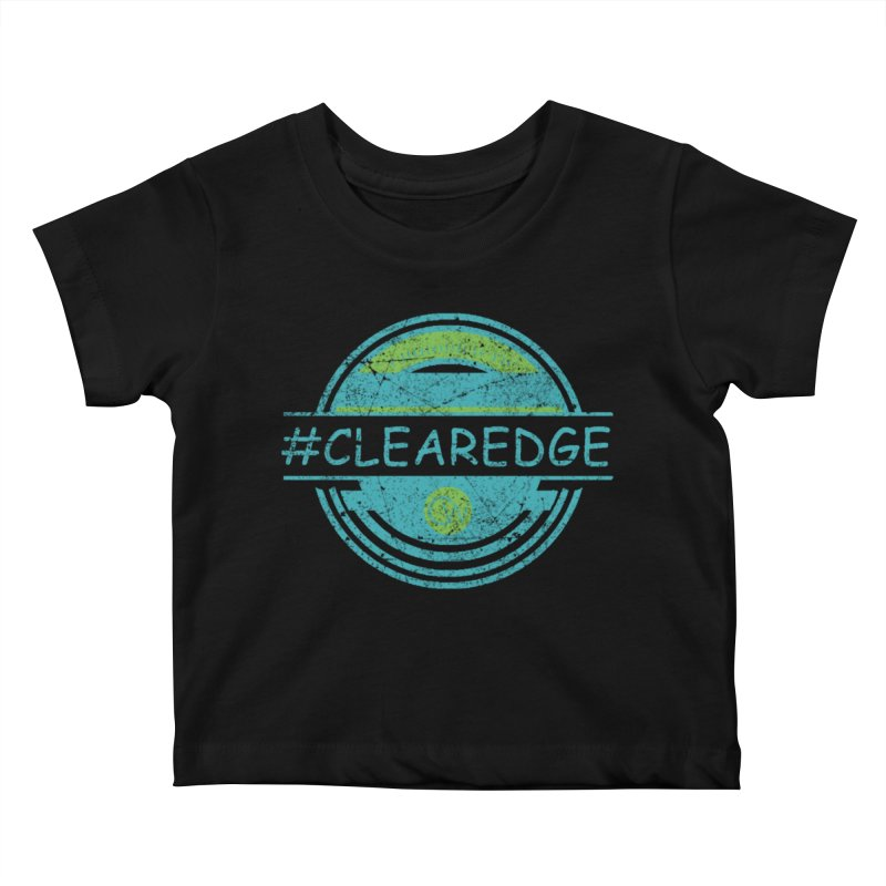 #CLEAREDGE Kids Baby T-Shirt by Clearwater Chiropractic Gear