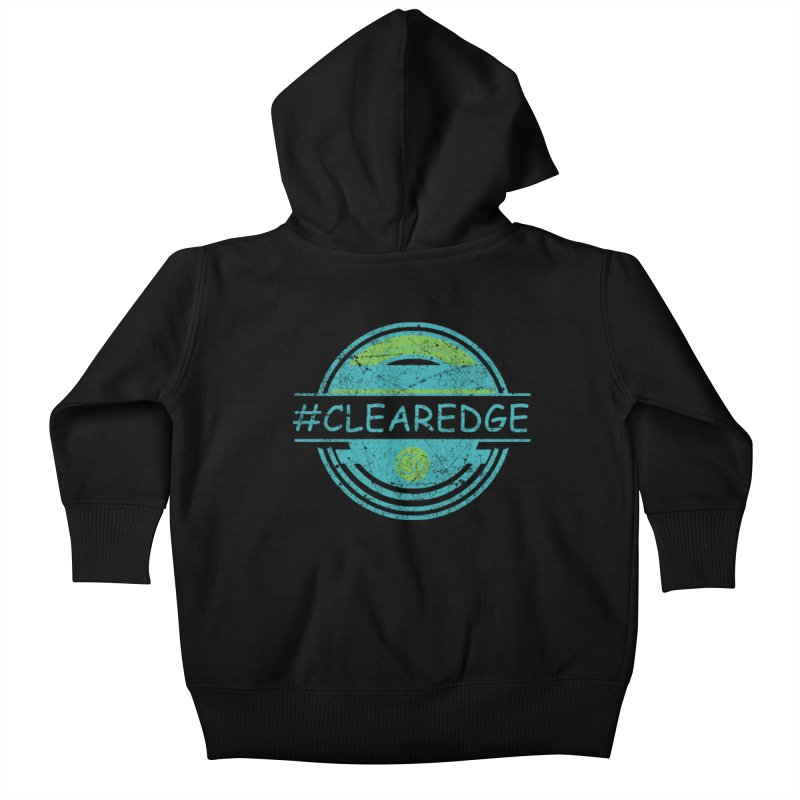 #CLEAREDGE Kids Baby Zip-Up Hoody by Clearwater Chiropractic Gear