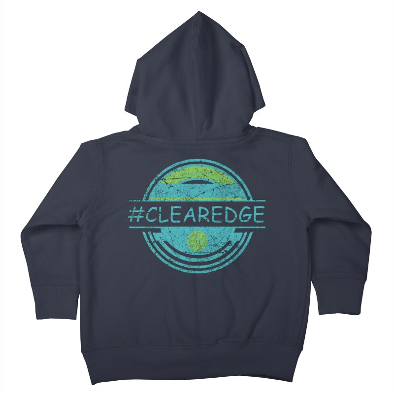 #CLEAREDGE Kids Toddler Zip-Up Hoody by Clearwater Chiropractic Gear