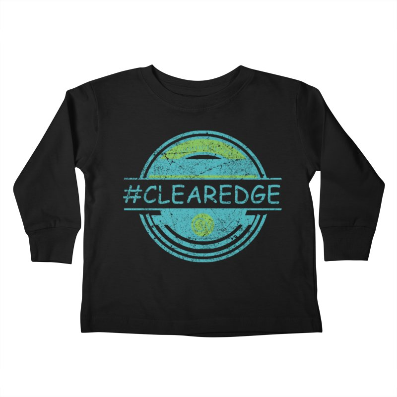 #CLEAREDGE Kids Toddler Longsleeve T-Shirt by Clearwater Chiropractic Gear