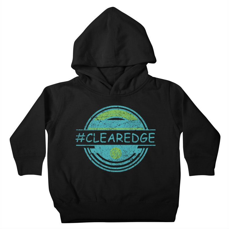 #CLEAREDGE Kids Toddler Pullover Hoody by Clearwater Chiropractic Gear