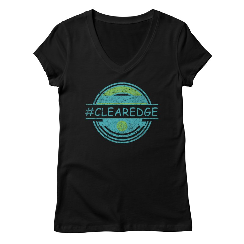 #CLEAREDGE Women's V-Neck by Clearwater Chiropractic Gear