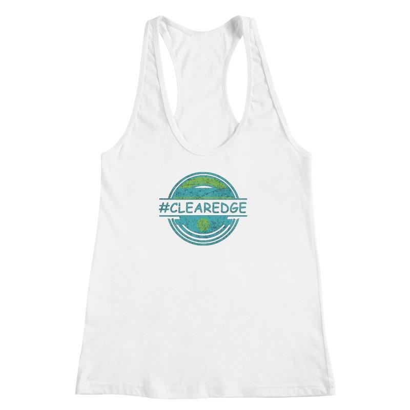#CLEAREDGE Women's Racerback Tank by Clearwater Chiropractic Gear