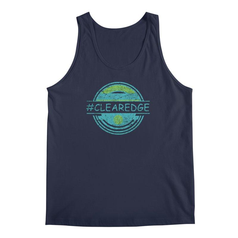 #CLEAREDGE Men's Regular Tank by Clearwater Chiropractic Gear