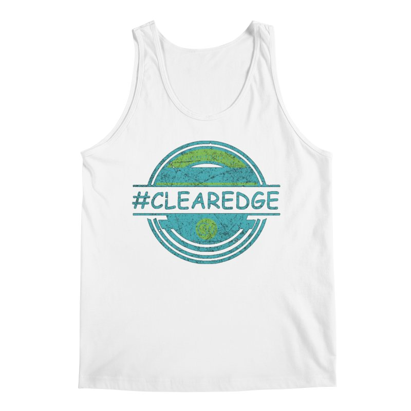 #CLEAREDGE Men's Regular Tank by Clearwater Chiropractic Gear