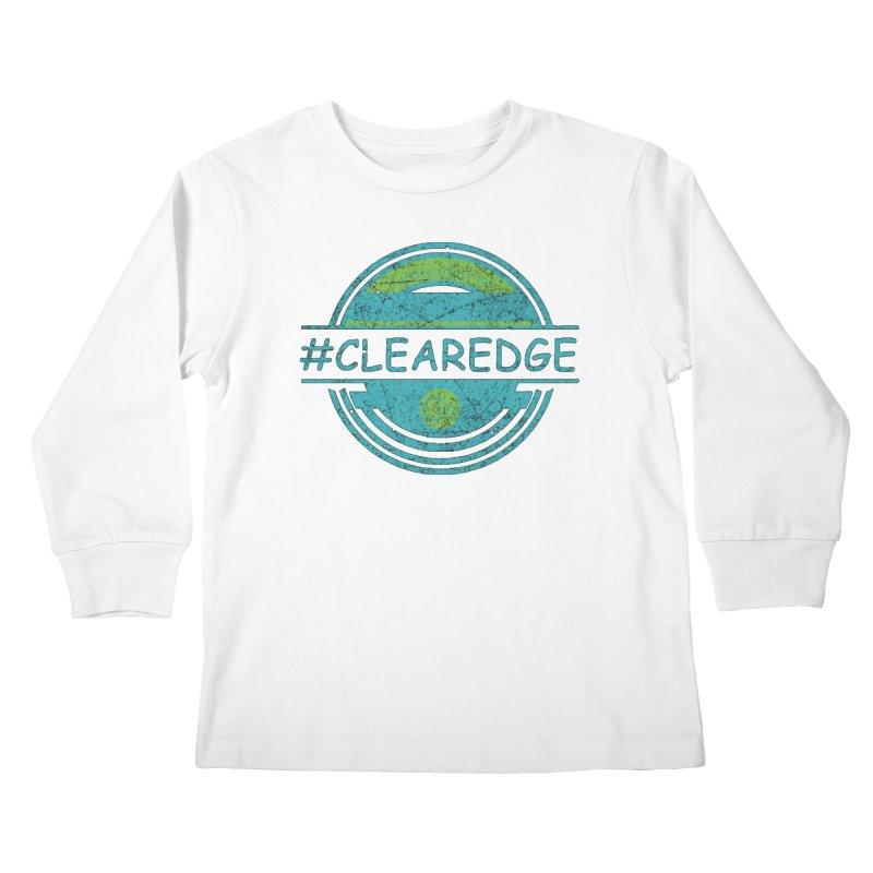 #CLEAREDGE Kids Longsleeve T-Shirt by Clearwater Chiropractic Gear