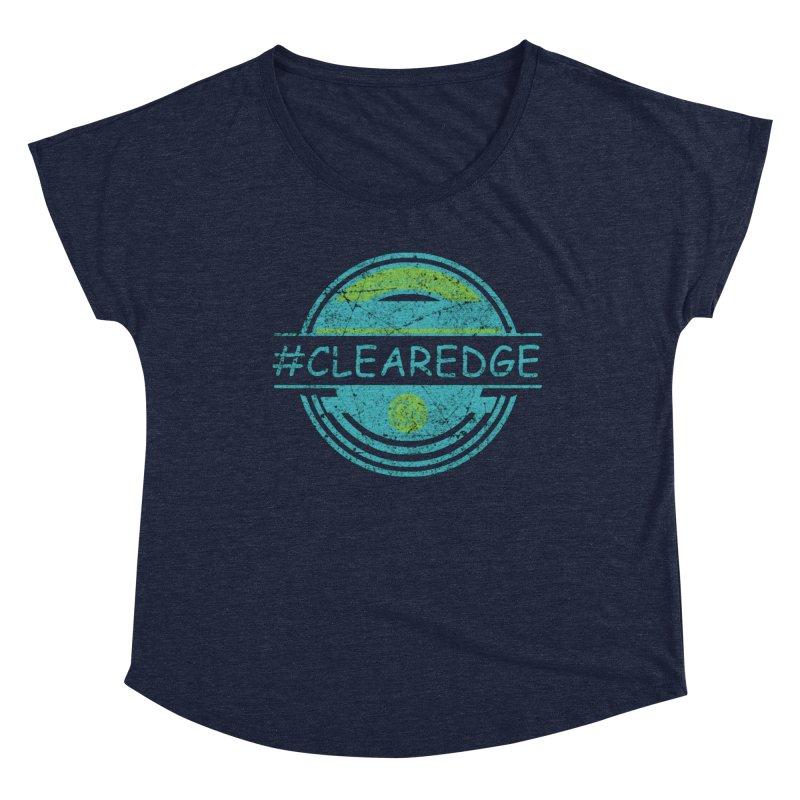 #CLEAREDGE Women's Scoop Neck by Clearwater Chiropractic Gear