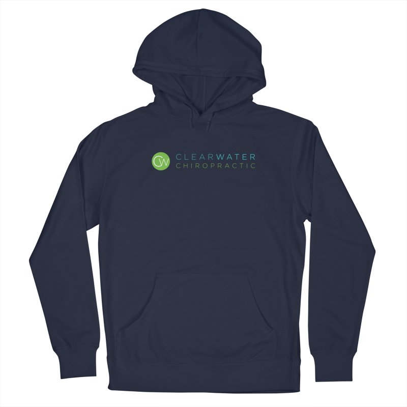 Clearwater Chiropractic Men's Pullover Hoody by Clearwater Chiropractic Gear