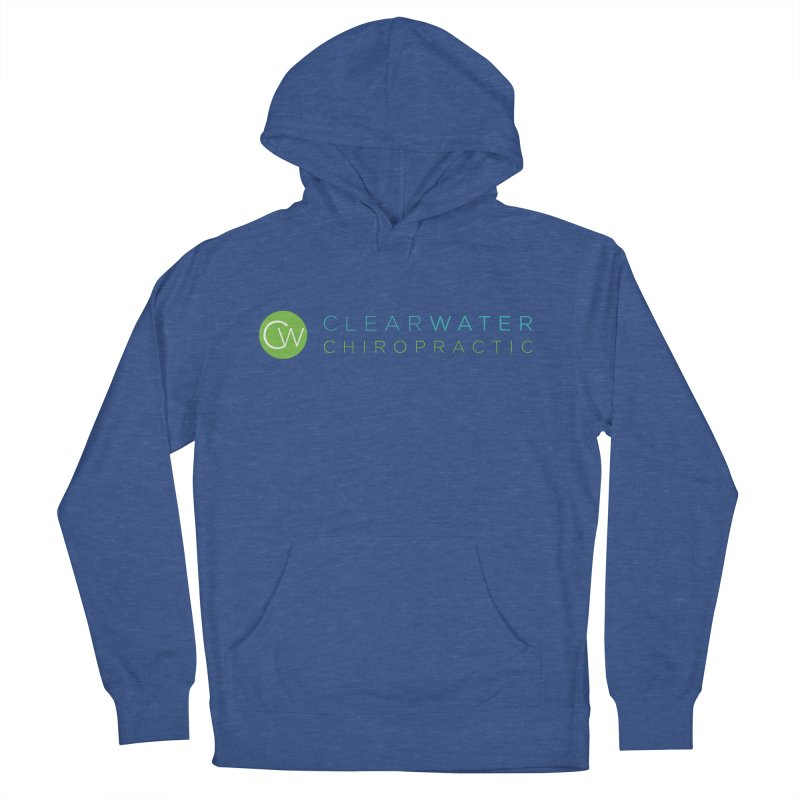 Clearwater Chiropractic Women's French Terry Pullover Hoody by Clearwater Chiropractic Gear