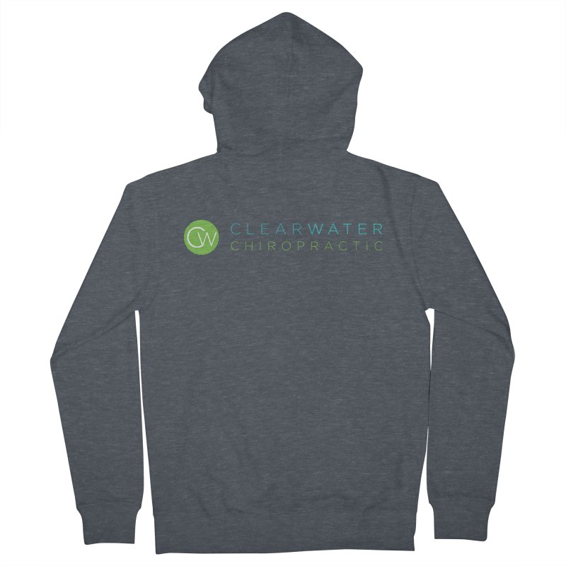 Clearwater Chiropractic Women's French Terry Zip-Up Hoody by Clearwater Chiropractic Gear