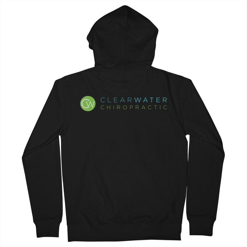 Clearwater Chiropractic Men's Zip-Up Hoody by Clearwater Chiropractic Gear