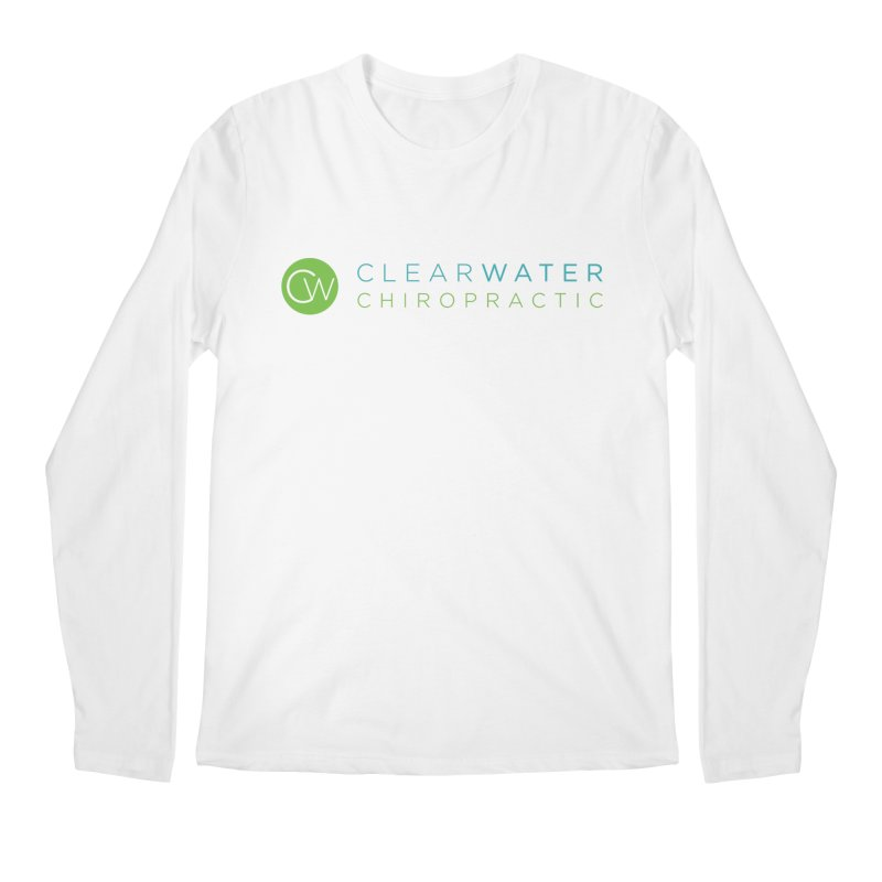 Clearwater Chiropractic Men's Regular Longsleeve T-Shirt by Clearwater Chiropractic Gear