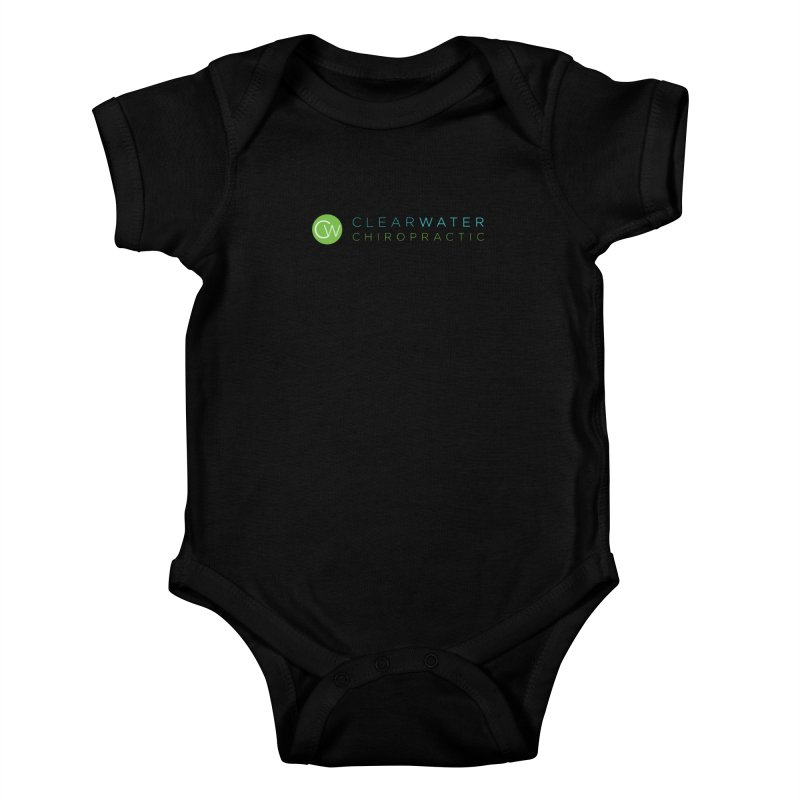 Clearwater Chiropractic Kids Baby Bodysuit by Clearwater Chiropractic Gear