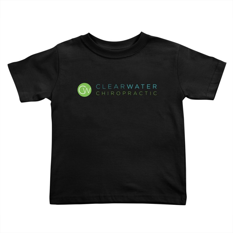 Clearwater Chiropractic Kids Toddler T-Shirt by Clearwater Chiropractic Gear