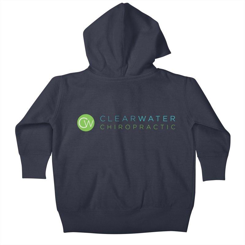 Clearwater Chiropractic Kids Baby Zip-Up Hoody by Clearwater Chiropractic Gear