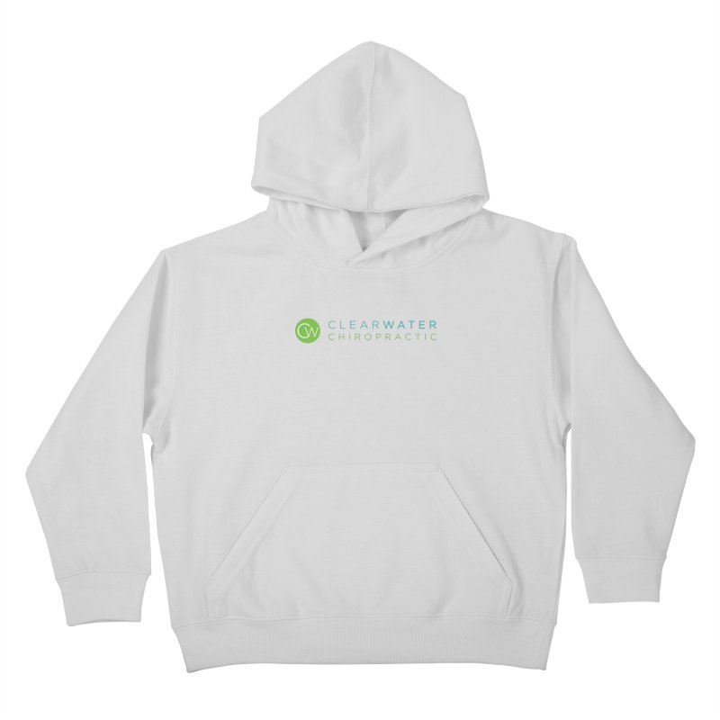 Clearwater Chiropractic Kids Pullover Hoody by Clearwater Chiropractic Gear