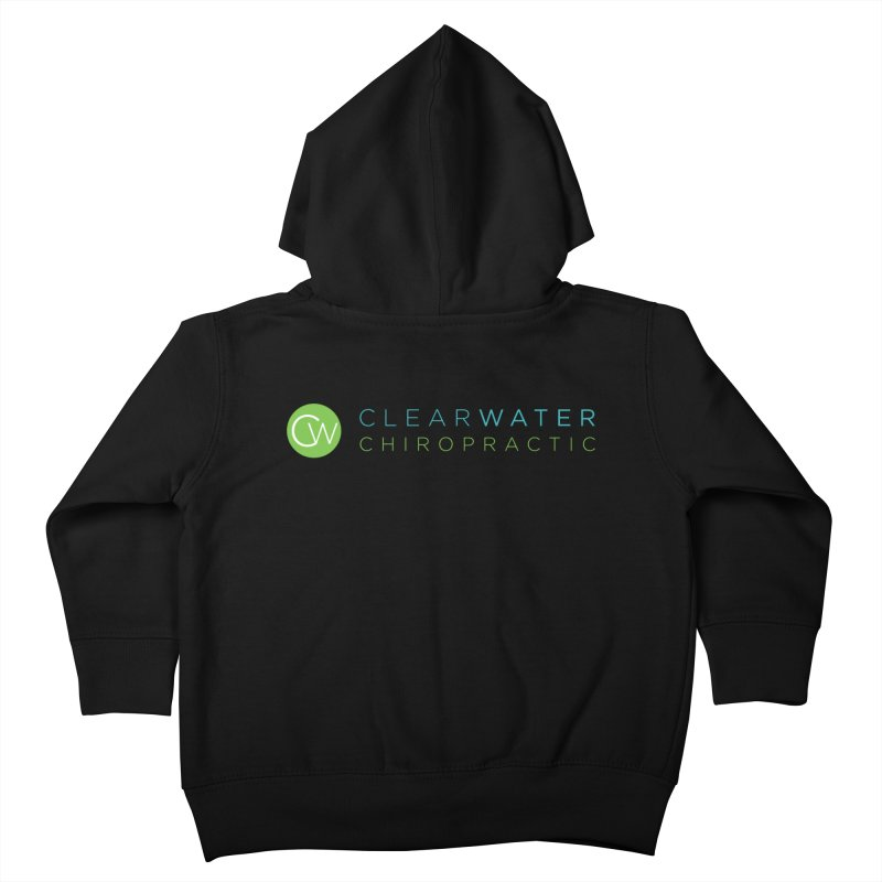 Clearwater Chiropractic Kids Toddler Zip-Up Hoody by Clearwater Chiropractic Gear