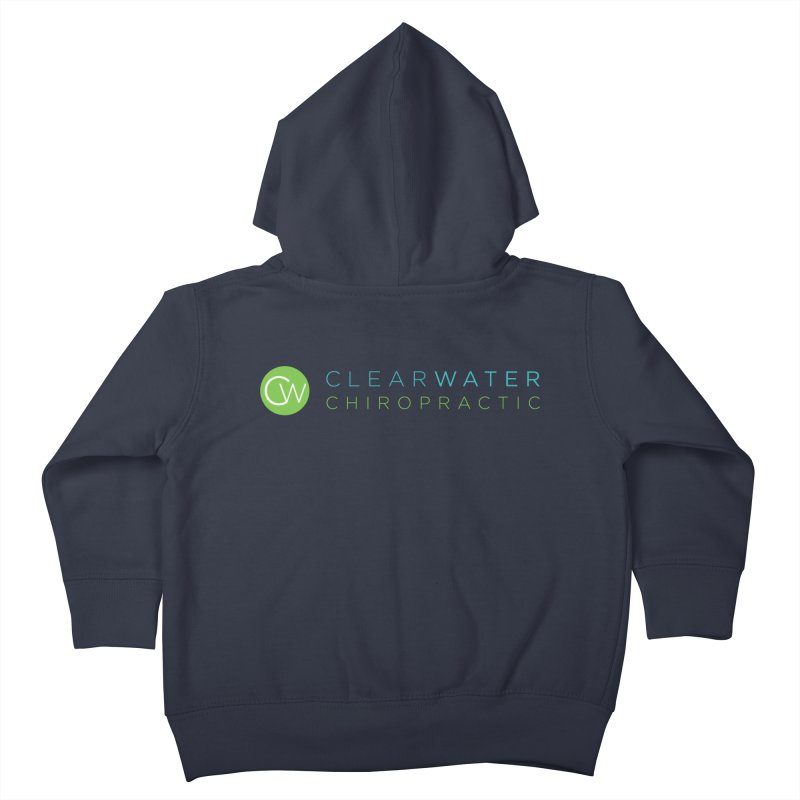 Clearwater Chiropractic Kids Toddler Zip-Up Hoody by Clearwater Chiropractic Gear