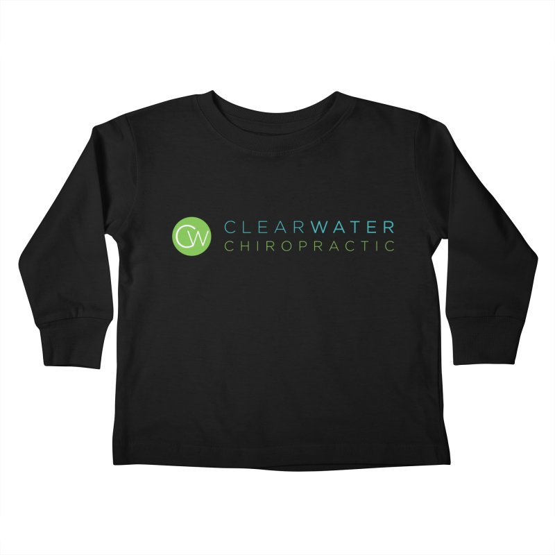 Clearwater Chiropractic Kids Toddler Longsleeve T-Shirt by Clearwater Chiropractic Gear