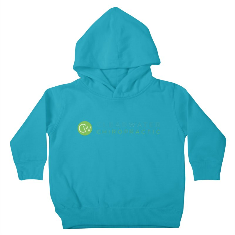 Clearwater Chiropractic Kids Toddler Pullover Hoody by Clearwater Chiropractic Gear