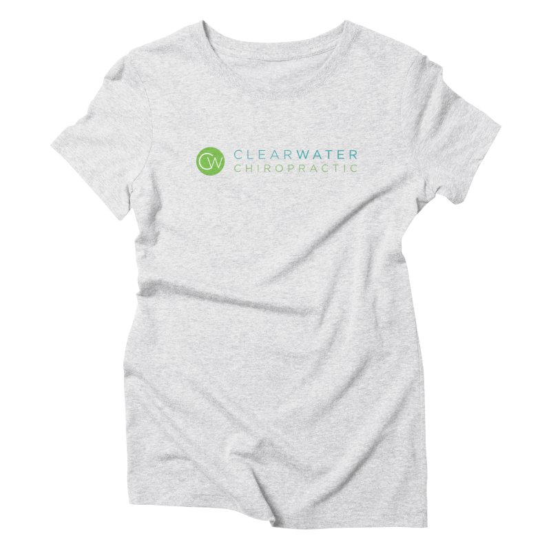 Clearwater Chiropractic Women's T-Shirt by Clearwater Chiropractic Gear