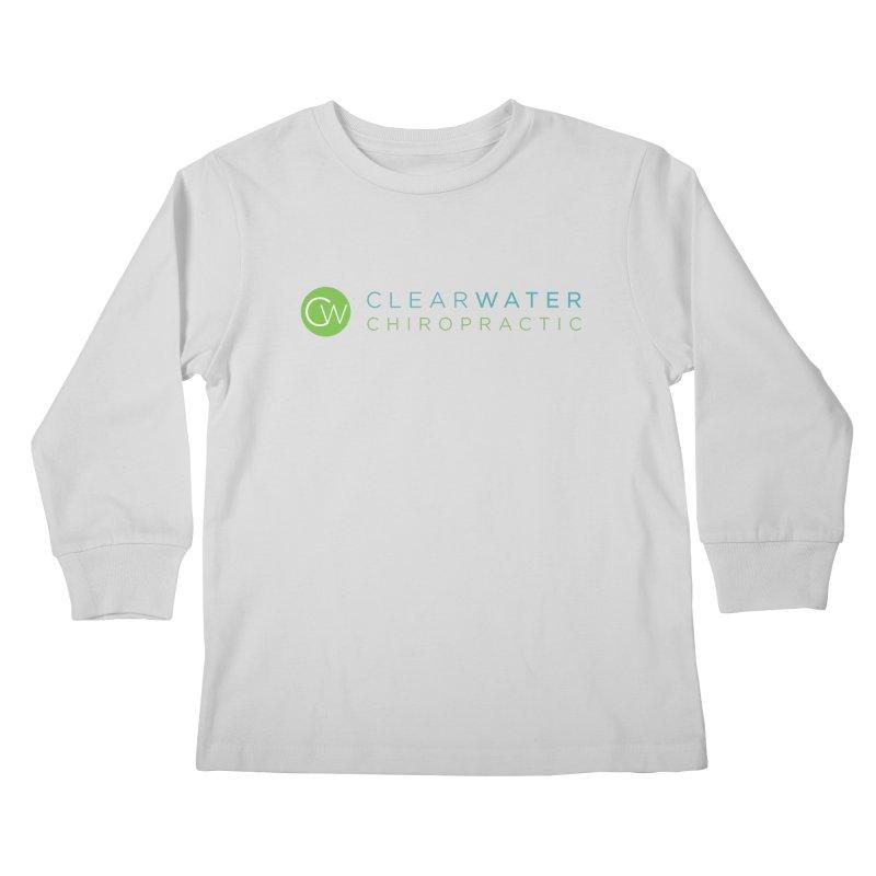 Clearwater Chiropractic Kids Longsleeve T-Shirt by Clearwater Chiropractic Gear