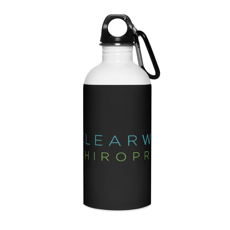 Clearwater Chiropractic Accessories Water Bottle by Clearwater Chiropractic Gear