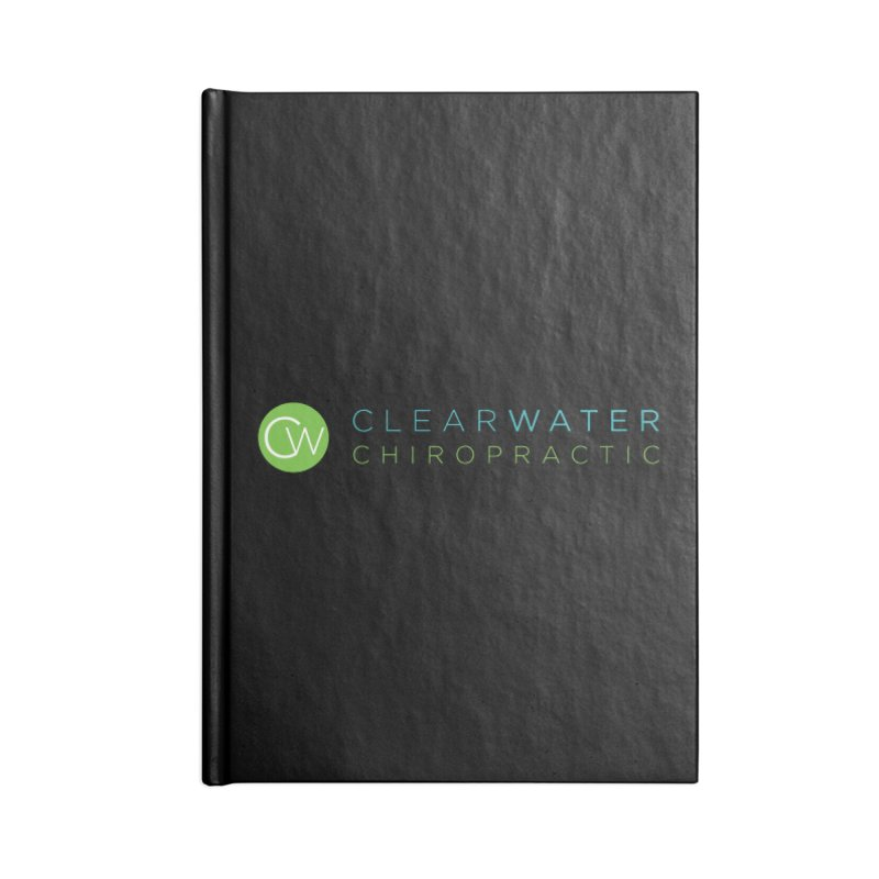 Clearwater Chiropractic Accessories Blank Journal Notebook by Clearwater Chiropractic Gear