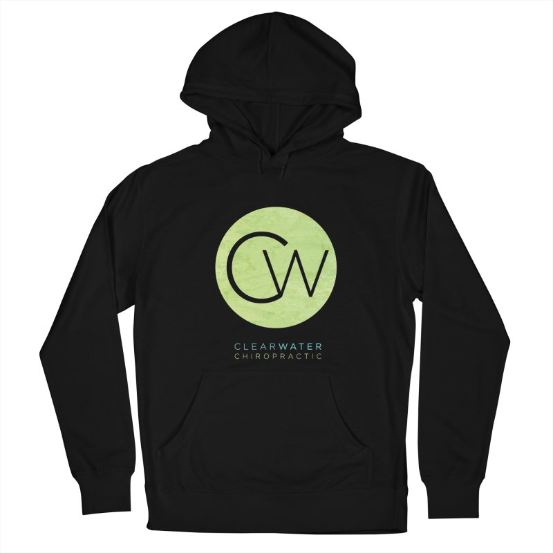 CW Women's French Terry Pullover Hoody by Clearwater Chiropractic Gear