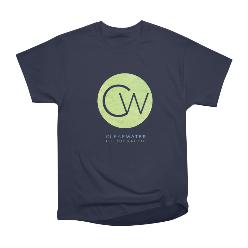 CW Men's Heavyweight T-Shirt by Clearwater Chiropractic Gear