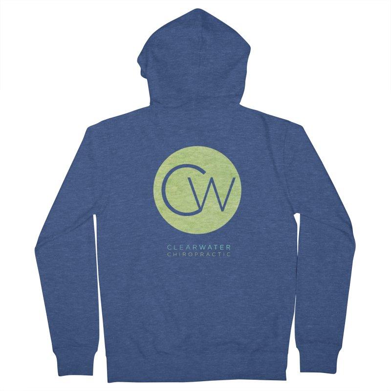 CW Women's Zip-Up Hoody by Clearwater Chiropractic Gear