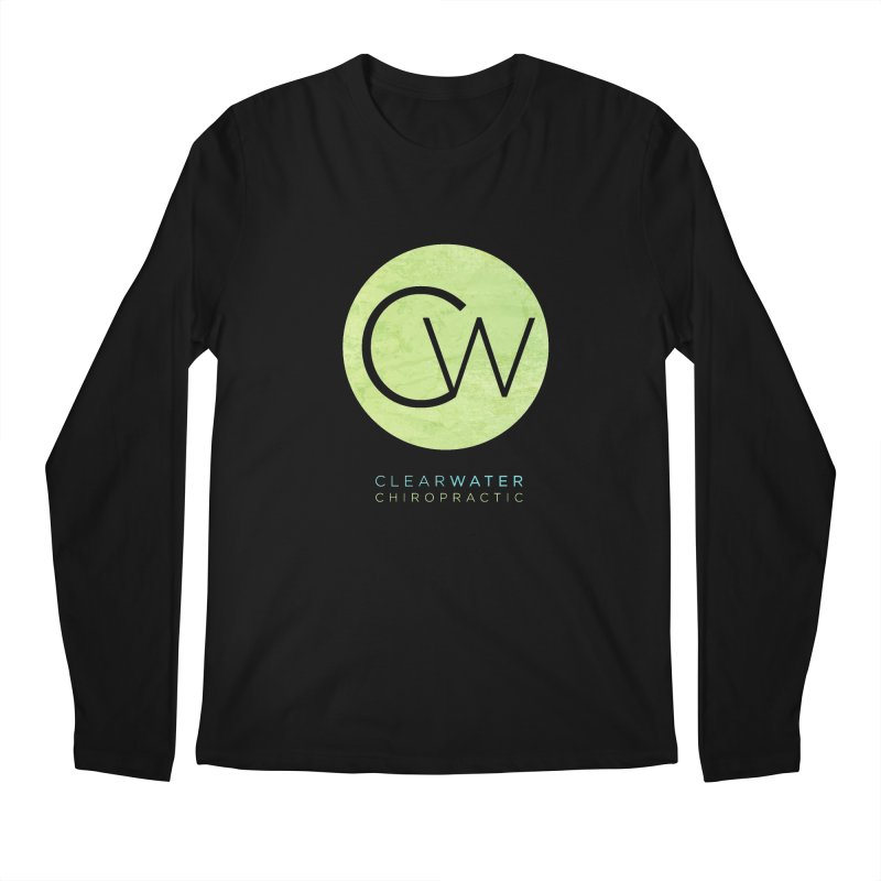CW Men's Longsleeve T-Shirt by Clearwater Chiropractic Gear