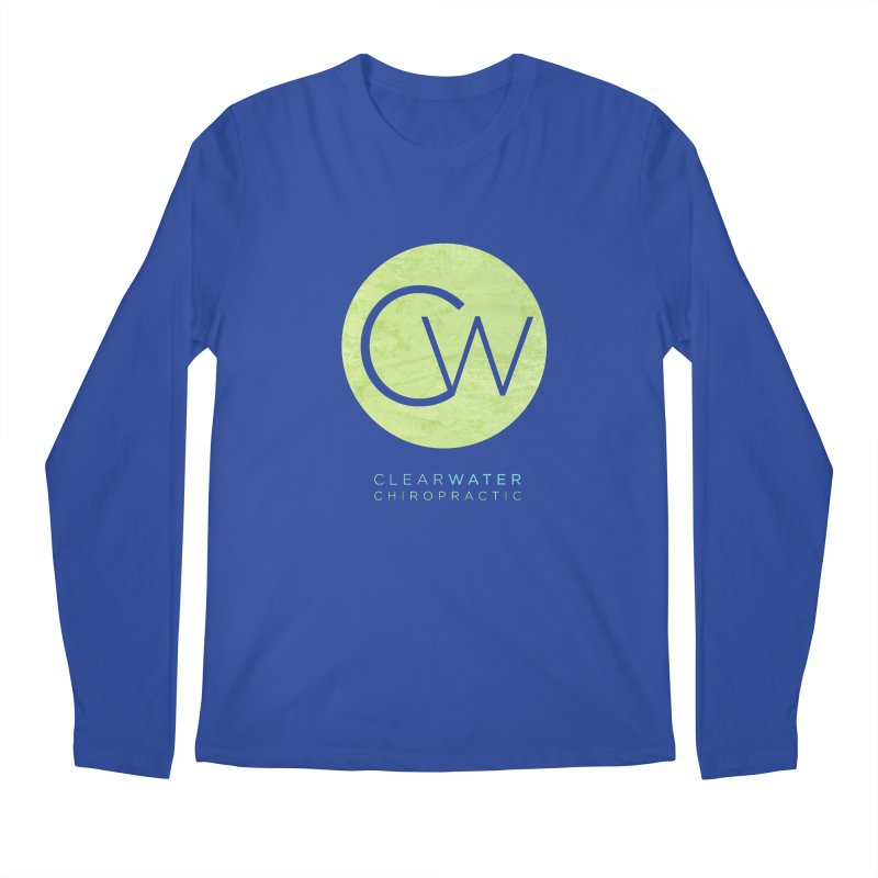 CW Men's Regular Longsleeve T-Shirt by Clearwater Chiropractic Gear