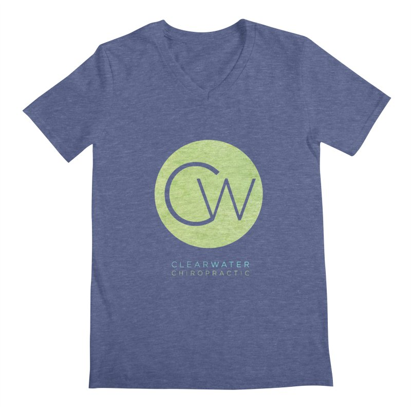 CW Men's V-Neck by Clearwater Chiropractic Gear