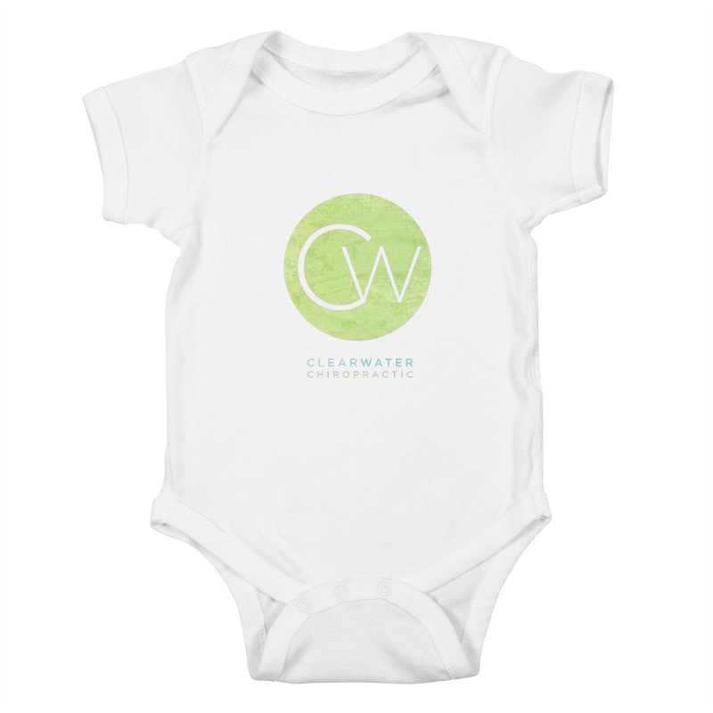 CW Kids Baby Bodysuit by Clearwater Chiropractic Gear