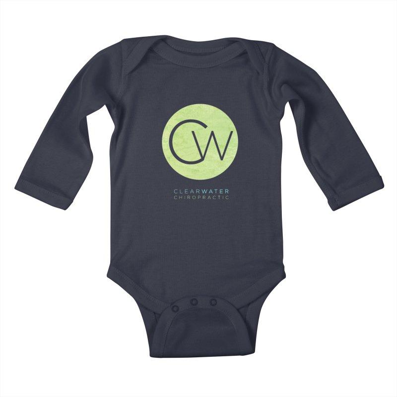 CW Kids Baby Longsleeve Bodysuit by Clearwater Chiropractic Gear