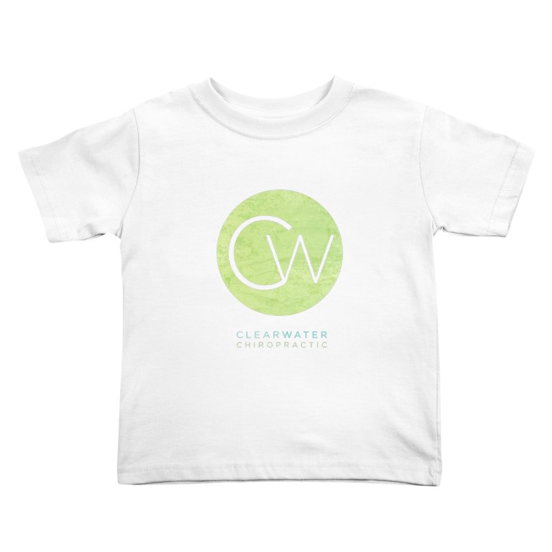 CW Kids Toddler T-Shirt by Clearwater Chiropractic Gear
