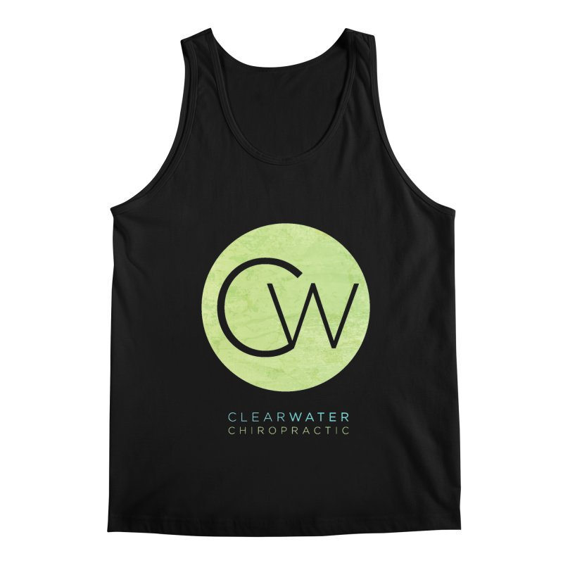 CW Men's Tank by Clearwater Chiropractic Gear