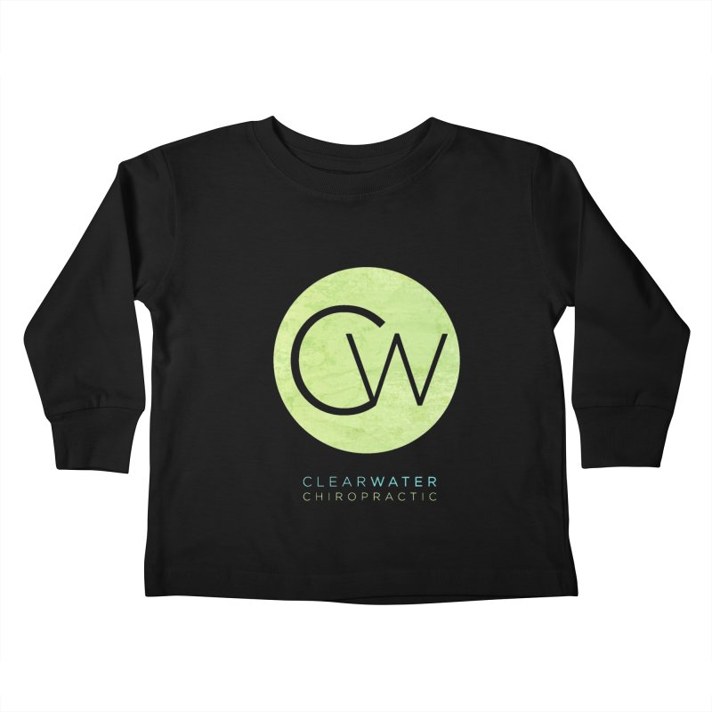 CW Kids Toddler Longsleeve T-Shirt by Clearwater Chiropractic Gear