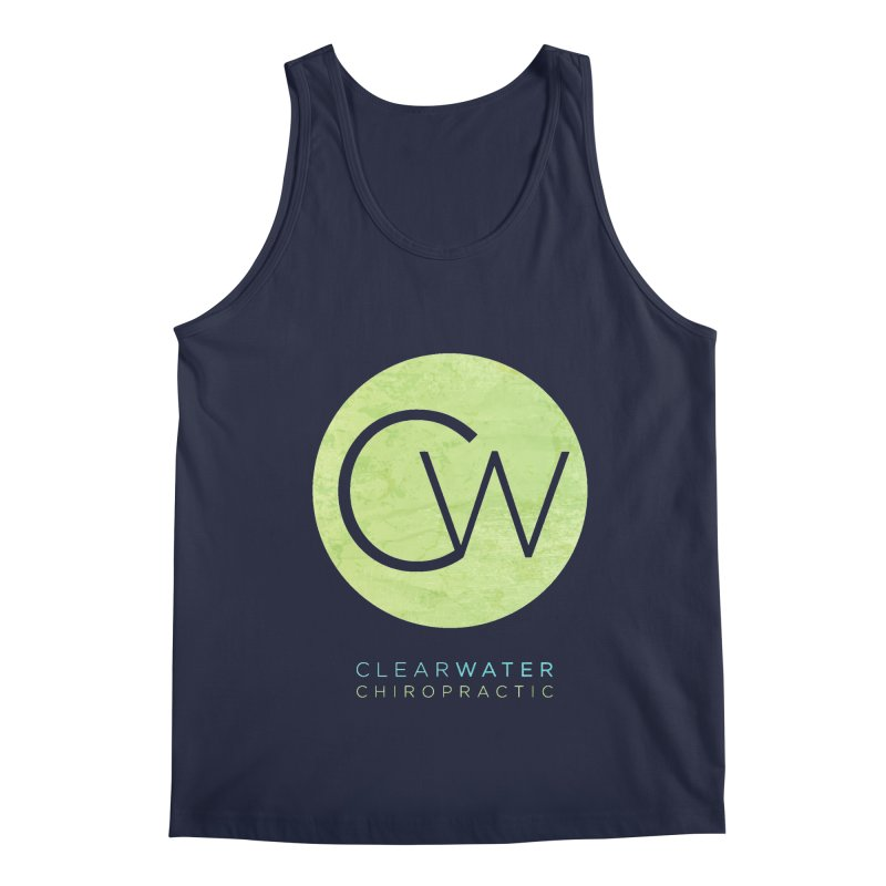 CW Men's Regular Tank by Clearwater Chiropractic Gear