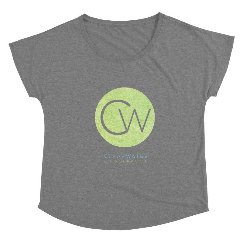 CW Women's Scoop Neck by Clearwater Chiropractic Gear